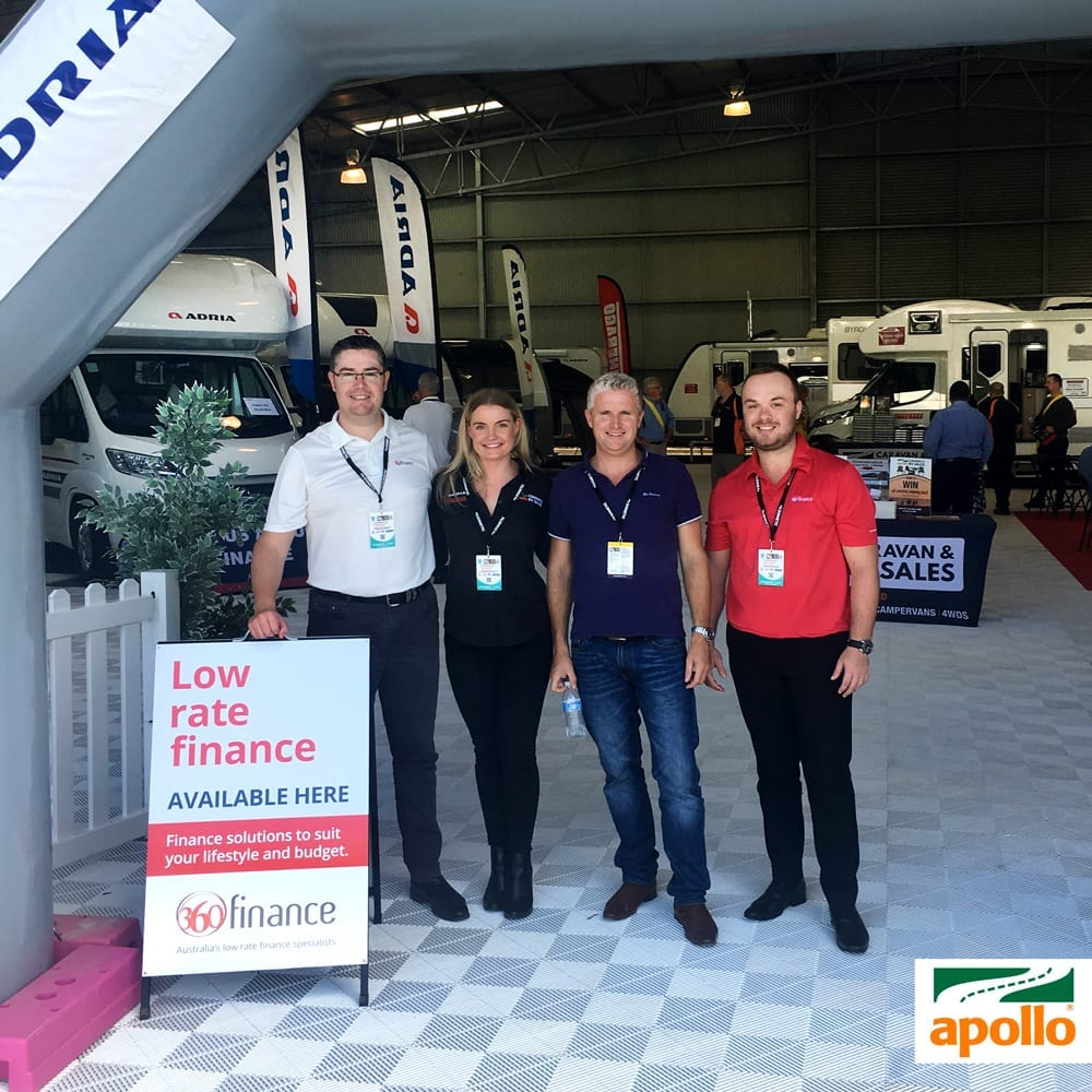 Apollo Caravans & RV Sales partner with 360 Finance.